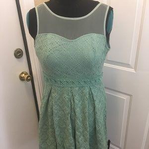 GUC - Modcloth Mint Dress - L
